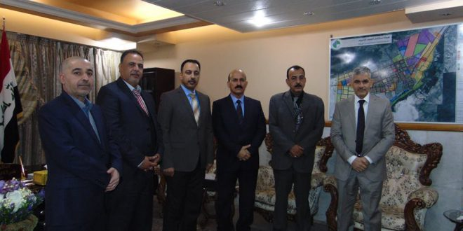 Visit the Investment Authority in Najaf and meeting with Mr. President of the Commission